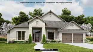 3435S - Kinder Ranch 70': San Antonio, Texas - Perry Homes
