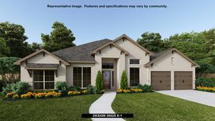 3002S - Kinder Ranch 70': San Antonio, Texas - Perry Homes