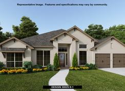 3002S - Rancho Sienna 70': Georgetown, Texas - Perry Homes