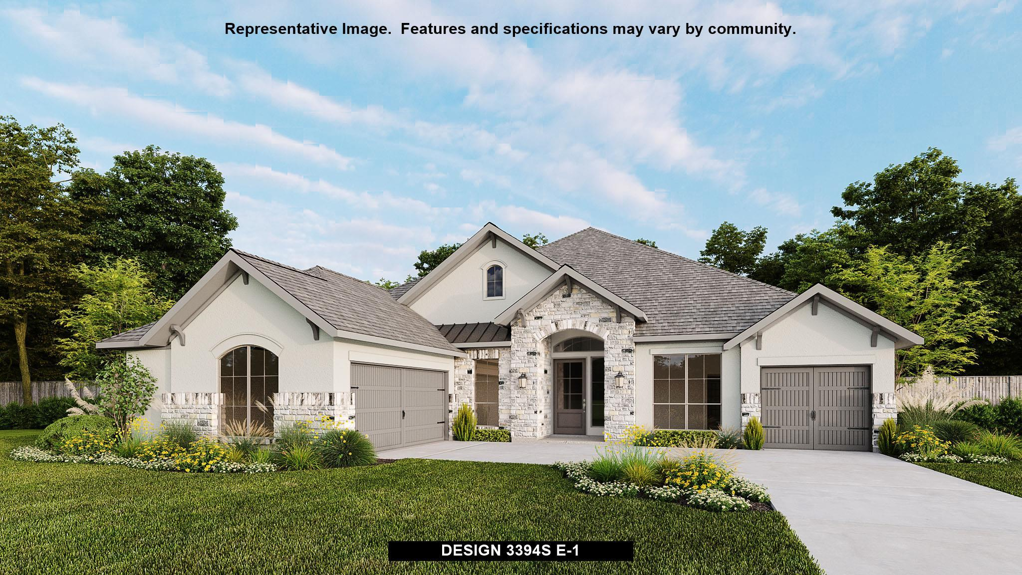 Exterior featured in the 3394S By Perry Homes in Austin, TX