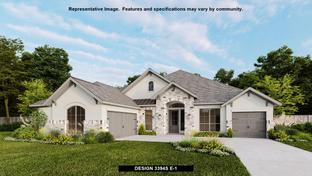 3394S - River Valley 70': Devine, Texas - Perry Homes