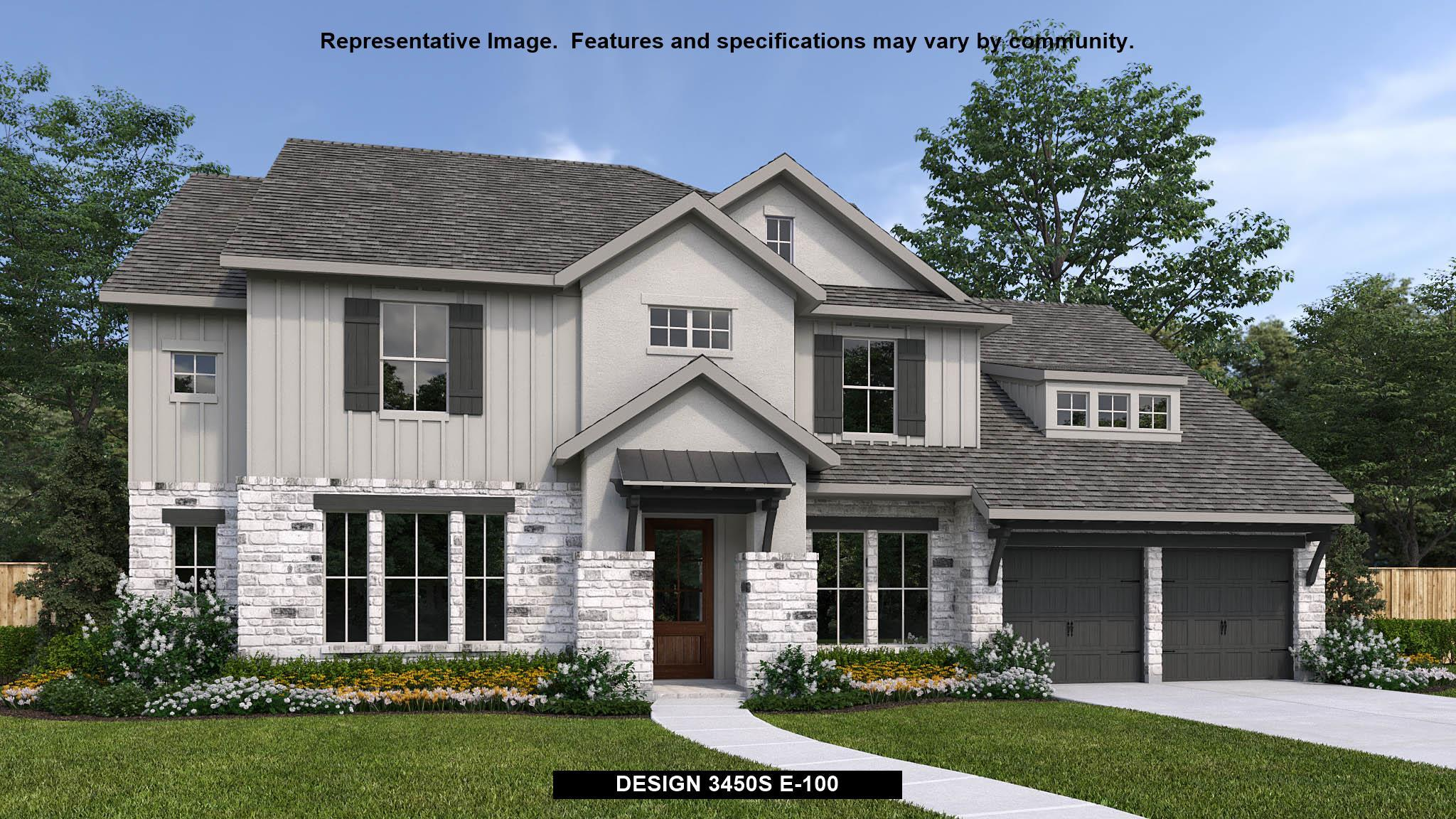 Exterior featured in the 3450S By Perry Homes in Austin, TX