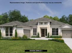 3099S - Johnson Ranch 85': Bulverde, Texas - Perry Homes