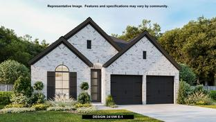2410W - Grand Central Park 45': Conroe, Texas - Perry Homes