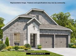 2410W - Bridgeland 45': Cypress, Texas - Perry Homes
