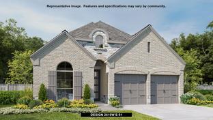2410W - Elyson 45': Katy, Texas - Perry Homes