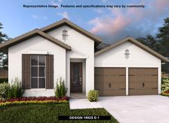 1992S - Kinder Ranch 50': San Antonio, Texas - Perry Homes
