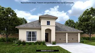 2187S - Deerbrooke 50': Leander, Texas - Perry Homes
