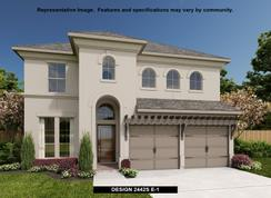 2442S - Rancho Sienna 50': Georgetown, Texas - Perry Homes