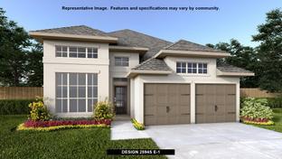 2594S - Blanco Vista 45': San Marcos, Texas - Perry Homes