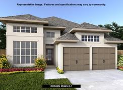 2594S - Deerbrooke 50': Leander, Texas - Perry Homes