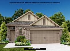 1577W - Lakes of Bella Terra West 40': Richmond, Texas - Perry Homes