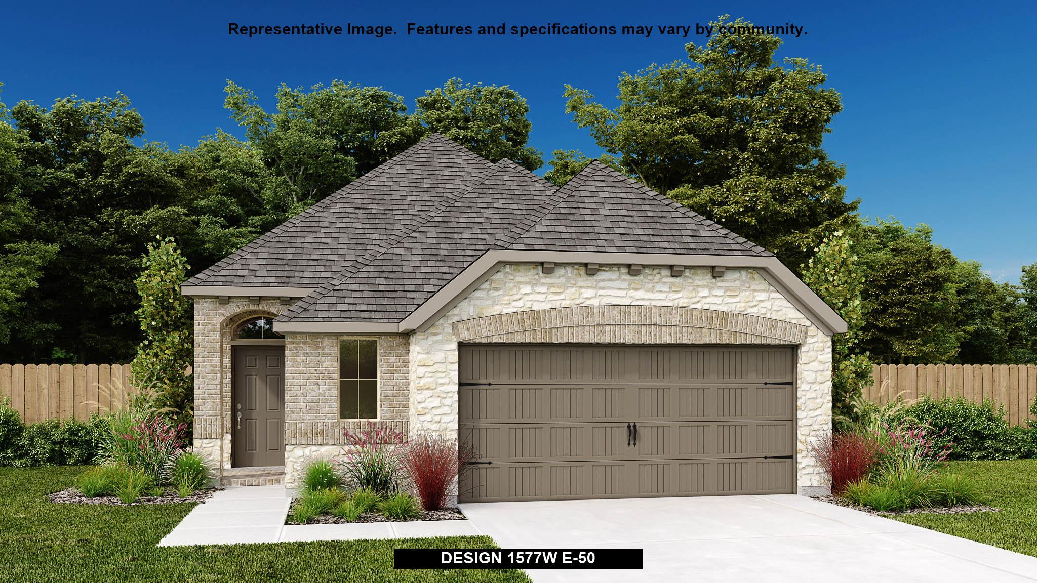 Exterior featured in the 1577W By Perry Homes in Austin, TX