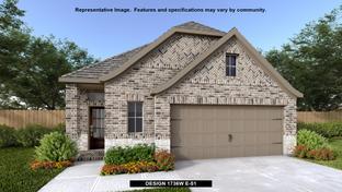 1736W - Ladera 40': San Antonio, Texas - Perry Homes