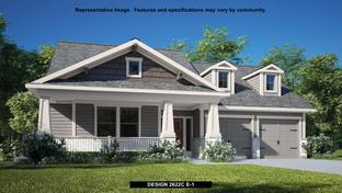 2622C - Bryson 60': Leander, Texas - Perry Homes