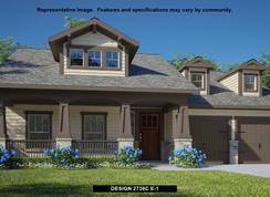 2738C - Bryson 60': Leander, Texas - Perry Homes