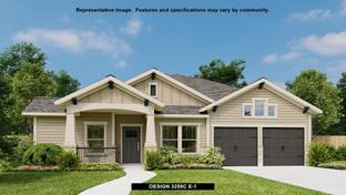 3258C - Bryson 60': Leander, Texas - Perry Homes
