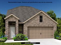 2018W - Santa Rita Ranch 40': Liberty Hill, Texas - Perry Homes