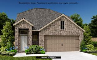 Lakes of Bella Terra West 40' by Perry Homes in Houston Texas