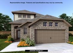2332W - Palmera Ridge 40': Leander, Texas - Perry Homes