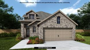 2332W - Devonshire - Reserve 40': Forney, Texas - Perry Homes