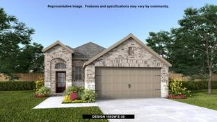 1593W - Devonshire - Reserve 40': Forney, Texas - Perry Homes