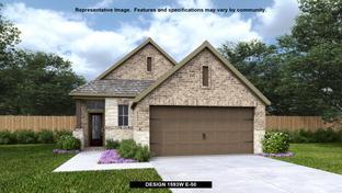 1593W - Ladera 40': San Antonio, Texas - Perry Homes