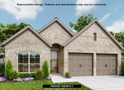 1653W - Rancho Sienna 50': Georgetown, Texas - Perry Homes
