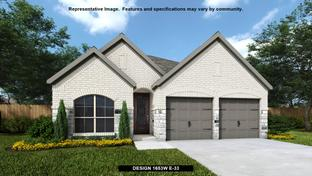 1653W - Amira 45': Tomball, Texas - Perry Homes