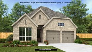 2026W - Mustang Lakes 50': Celina, Texas - Perry Homes