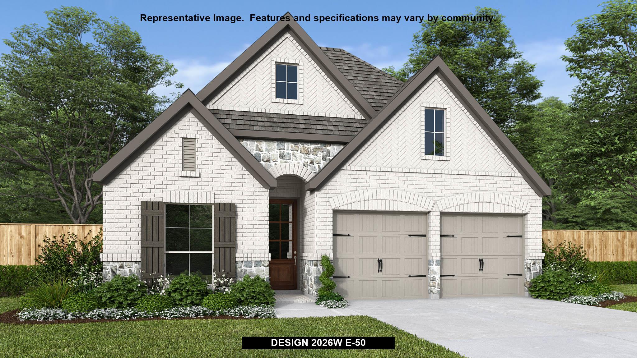Exterior featured in the 2026W By Perry Homes in Houston, TX