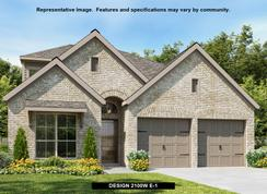 2100W - Prairie Oaks 45': Little Elm, Texas - Perry Homes