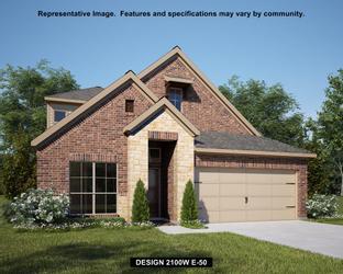 2100W - Harvest Green 45': Richmond, Texas - Perry Homes