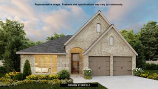 2110W - Amira 50': Tomball, Texas - Perry Homes