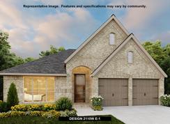2110W - Fronterra at Westpointe 50': San Antonio, Texas - Perry Homes