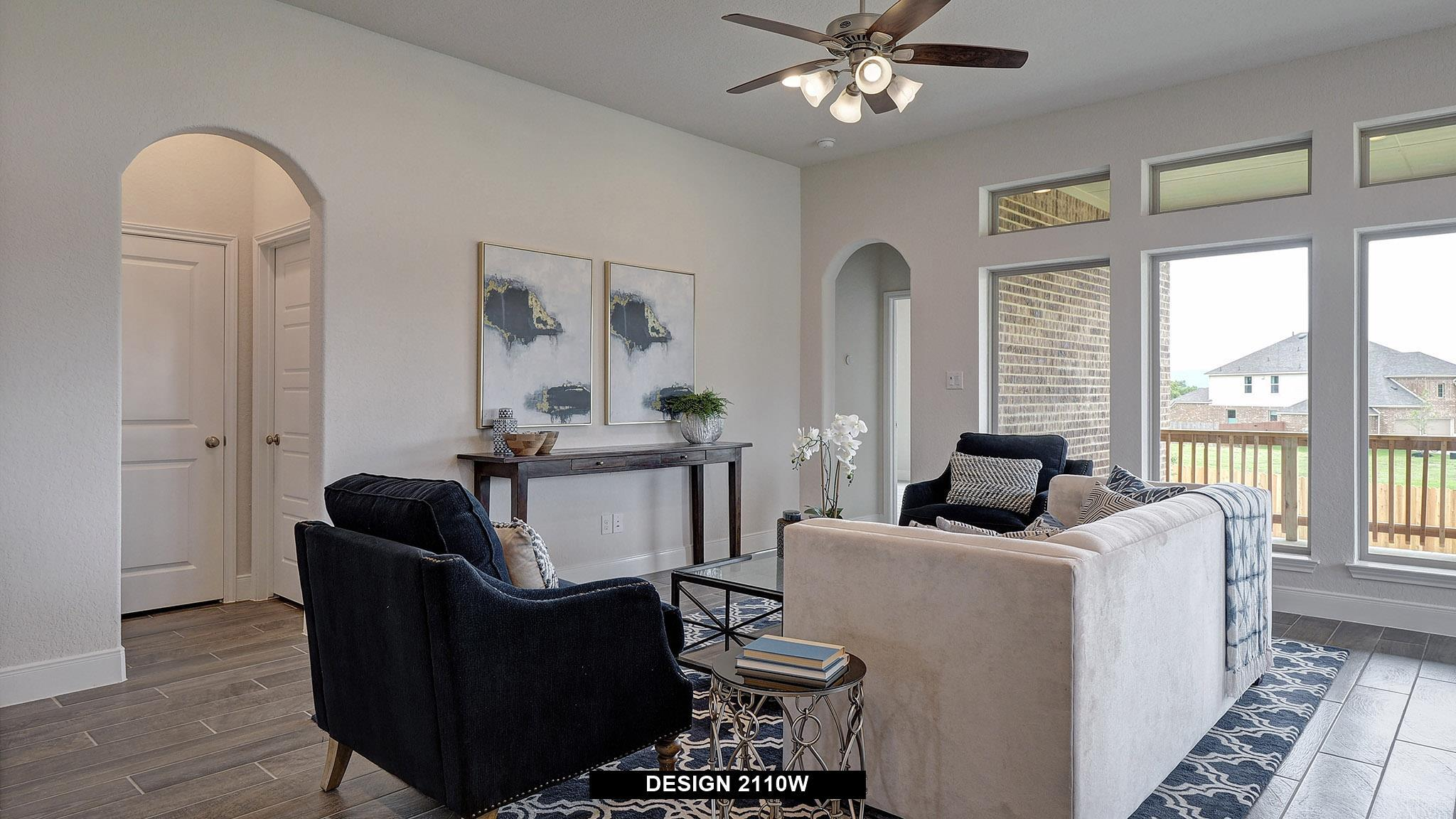 Living Area featured in the 2110W By Perry Homes in Dallas, TX