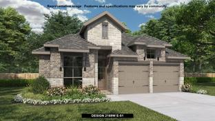 2169W - Amira 45': Tomball, Texas - Perry Homes