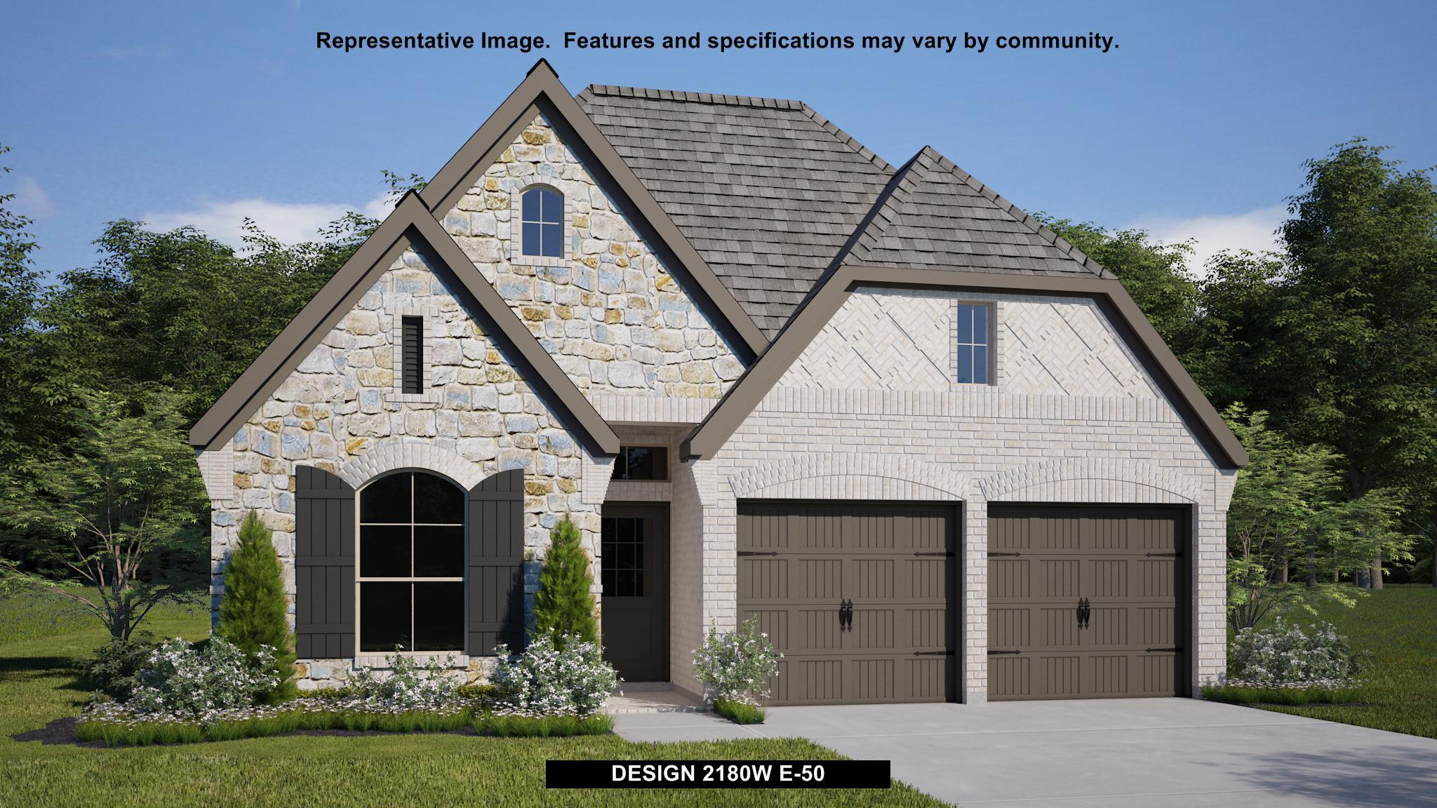 Exterior featured in the 2180W By Perry Homes in Houston, TX