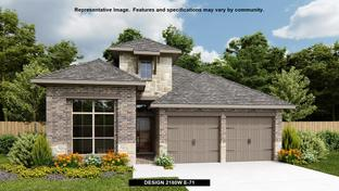 2180W - Trails at Westpointe 45': San Antonio, Texas - Perry Homes