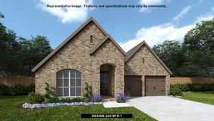 2251W - Devonshire - Reserve 50': Forney, Texas - Perry Homes