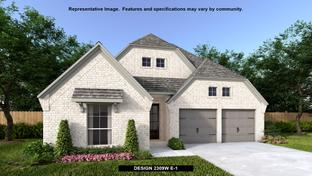 2309W - Mustang Lakes 50': Celina, Texas - Perry Homes