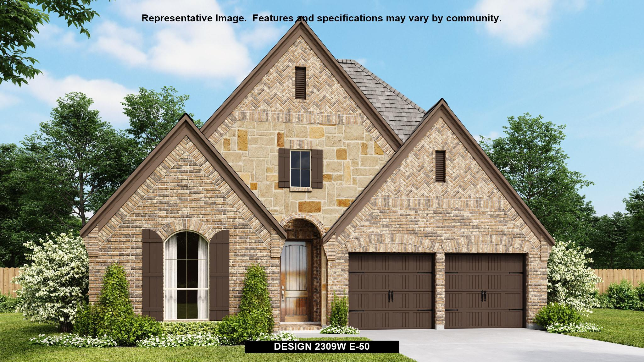 Exterior featured in the 2309W By Perry Homes in Dallas, TX