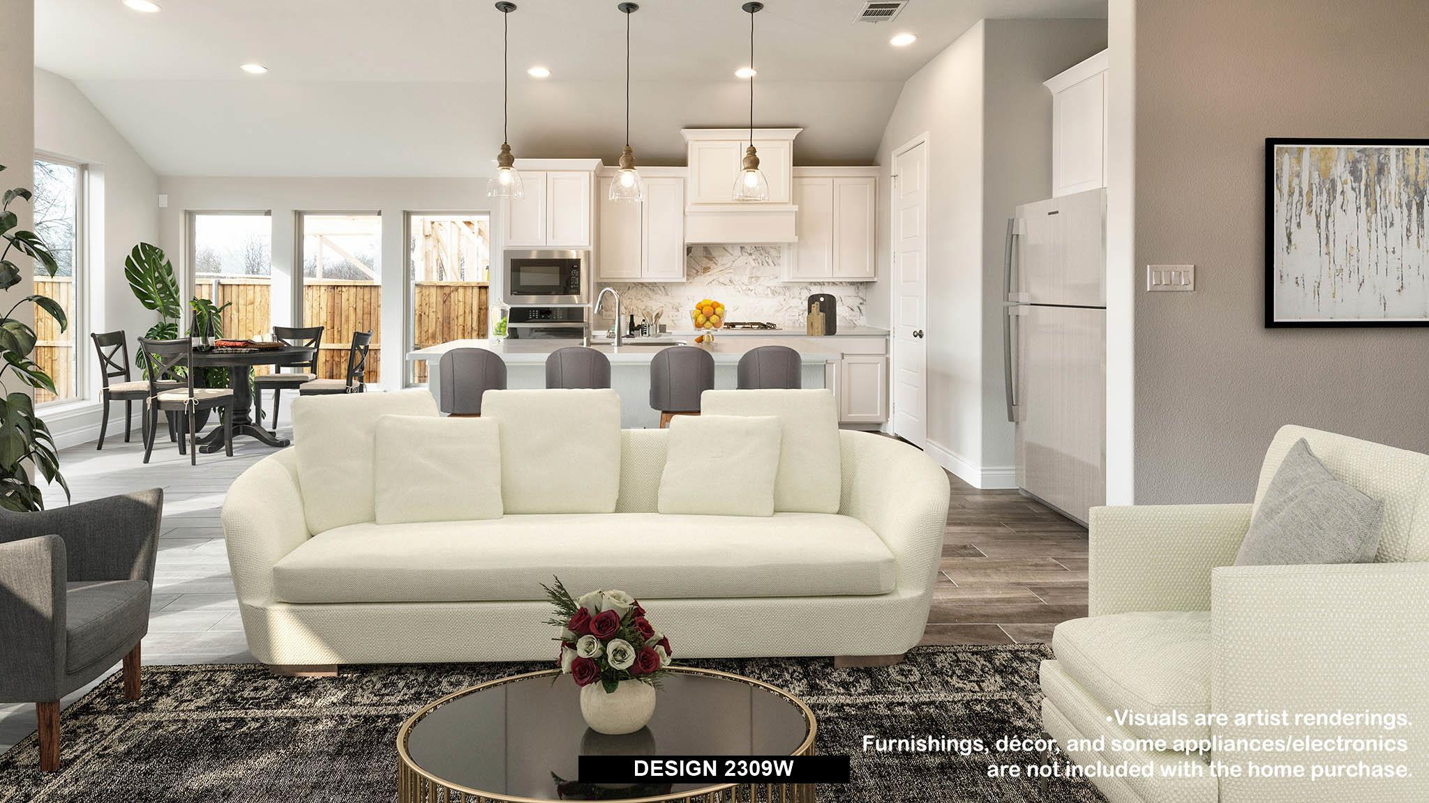 Living Area featured in the 2309W By Perry Homes in Dallas, TX