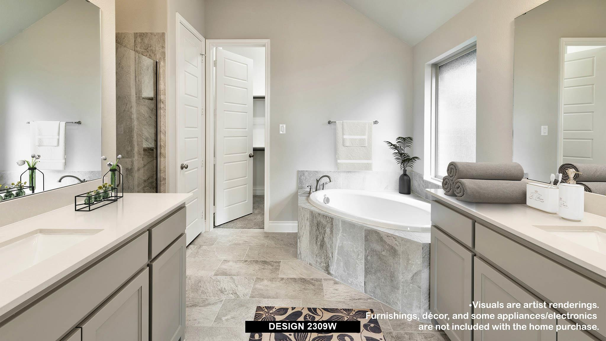 Bathroom featured in the 2309W By Perry Homes in Dallas, TX