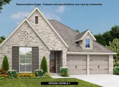 2352W - Prairie Oaks 50': Little Elm, Texas - Perry Homes