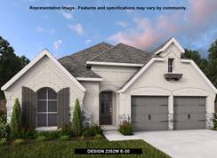 2352W - Devonshire - Reserve 50': Forney, Texas - Perry Homes