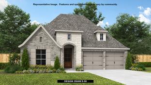 2504W - Balmoral 50': Humble, Texas - Perry Homes