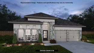 2504W - Amira 50': Tomball, Texas - Perry Homes