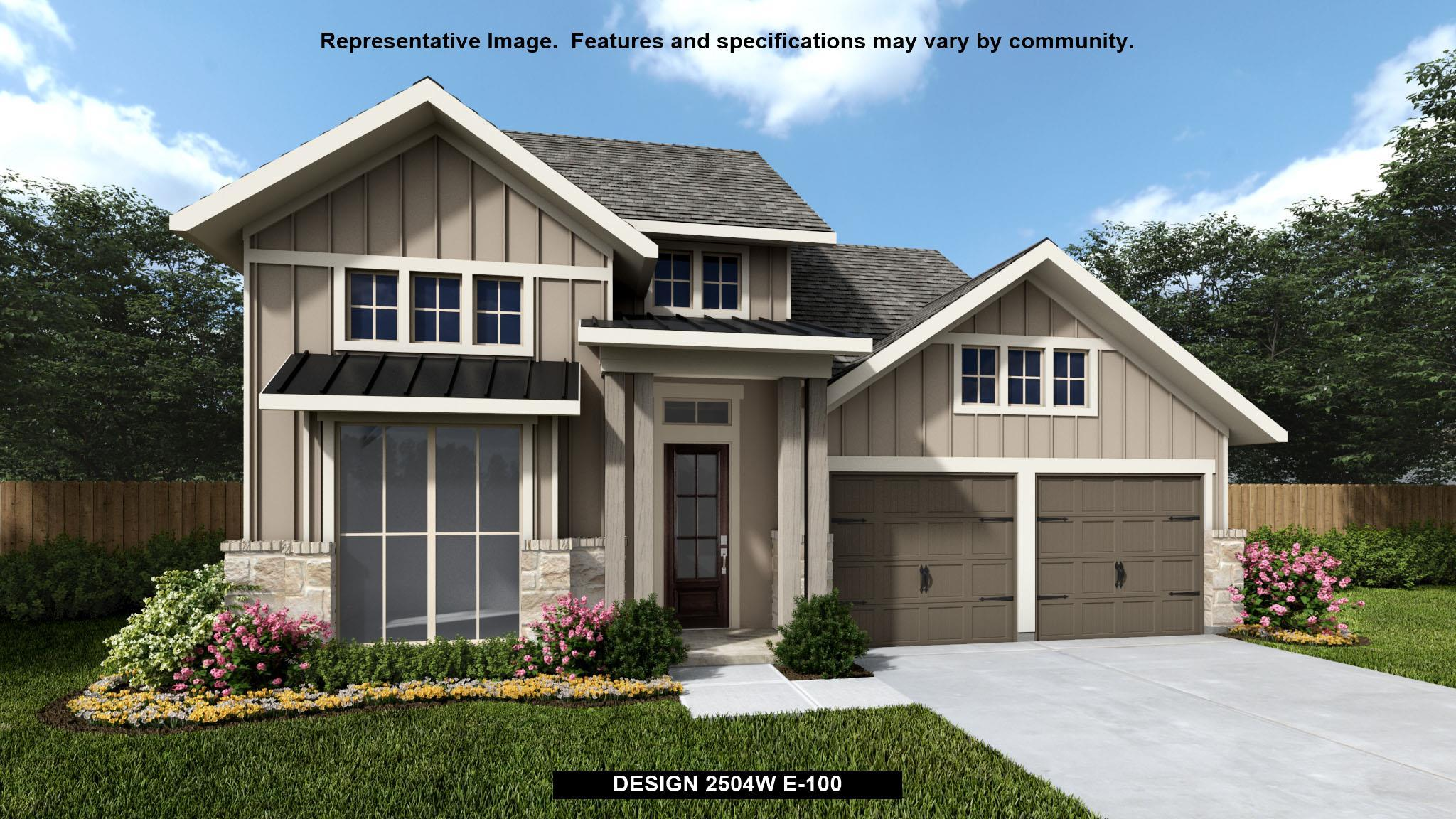 Exterior featured in the 2504W By Perry Homes in Dallas, TX