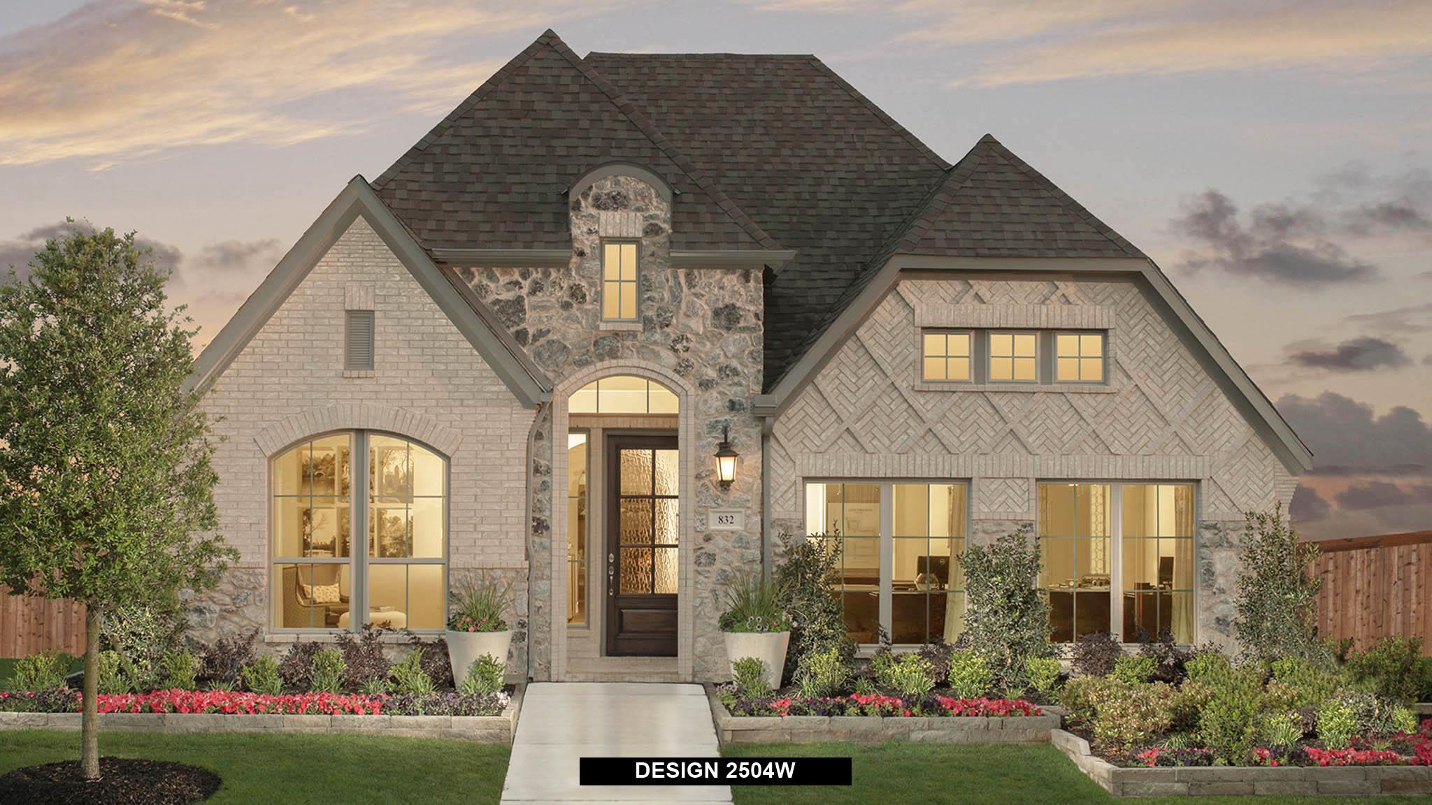 Exterior featured in the 2504W By Perry Homes in San Antonio, TX